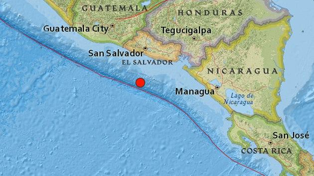 Un sismo de magnitud 5,1 sacude El Salvador