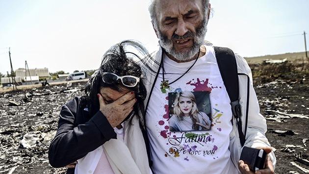 MH17: padres de una víctima amenazan con demandar a quienes digan que su hija murió