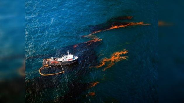 Una nueva mancha de crudo en el Golfo de México