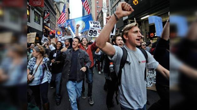 'War Street': los arrestos no detienen a los indignados de Nueva York