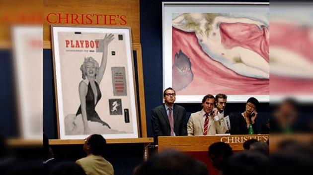 Playboy subastará una parte de su archivo