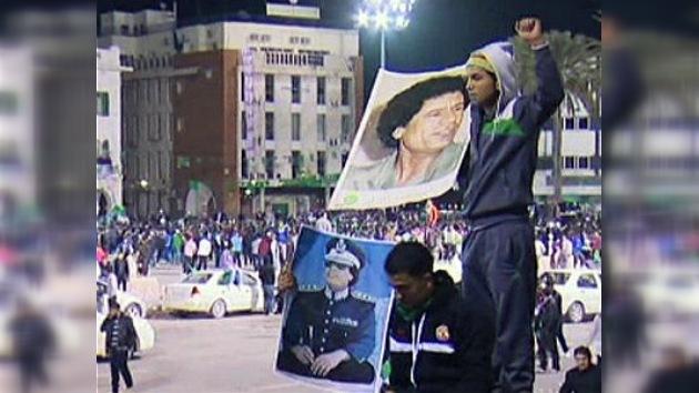Al menos 1.500 manifestantes salen a las calles de Trípoli
