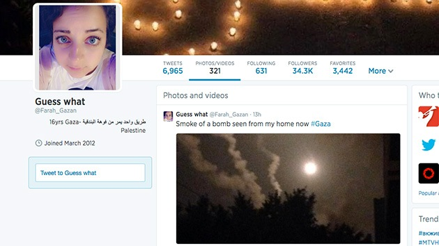 "Niña palestina denuncia ataques en Twitter: ""He sobrevivido a tres guerras y ya basta"""