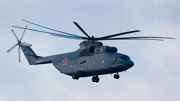 Rusia y China fabricarán el helicóptero de transporte pesado más potente del planeta