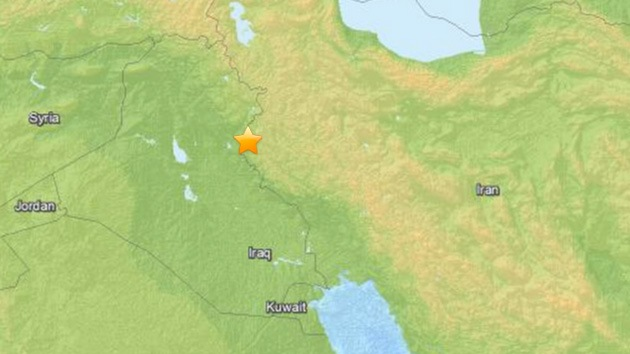 Un nuevo terremoto de magnitud 5,6 sacude la frontera entre Irán e Irak
