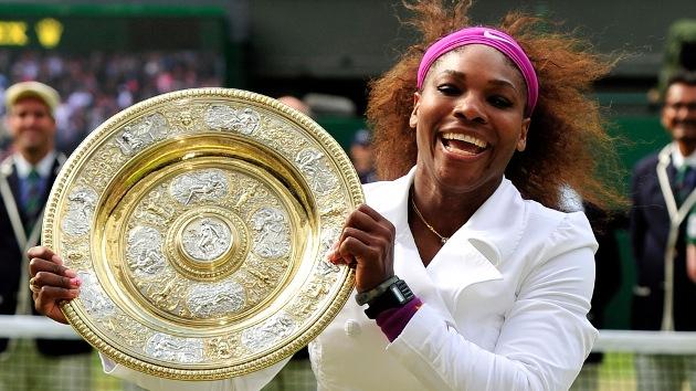 Wimbledon: Serena Williams iguala el 'repóker' de su hermana Venus