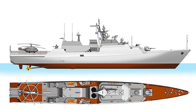 Rusia pone en quilla su primera corbeta modular