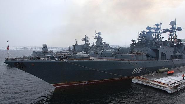Rusia anuncia sus riesgos militares y proyectos en el Ártico