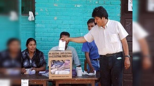 Evo Morales quiere conseguir el poder