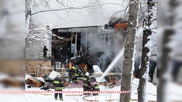 Una comida de terror: trágica explosión en un restaurante de Moscú