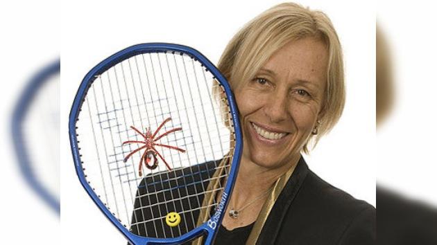 La tenista Martina Navratilova venció al cáncer de mama