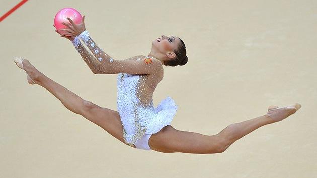 Londres 2012: Oro y plata en gimnasia rítmica para Rusia