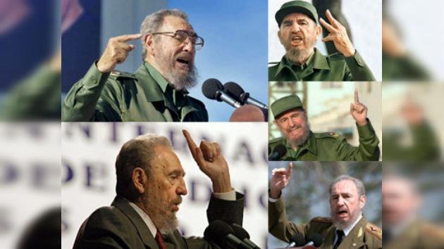 Fidel Castro pronuncia discurso público tras cuatro años de ausencia