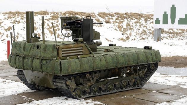 Especialistas rusos diseñan un avanzado sistema robótico de lanzacohetes
