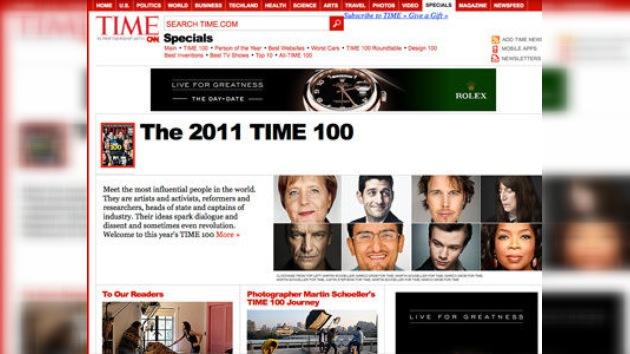 Time publica la lista de las 100 personas más influyentes del planeta