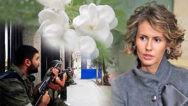 Video: La mujer de Al Assad insta que se proteja el 'jazmín' de Damasco