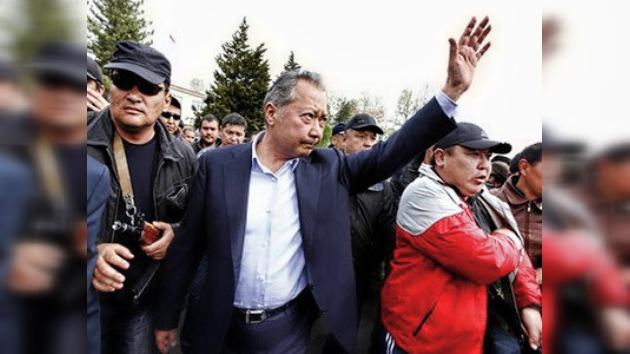 El presidente depuesto de Kirguistán está dispuesto a retirarse