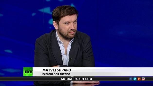 Entrevista con Matvéi Shparó, explorador ártico