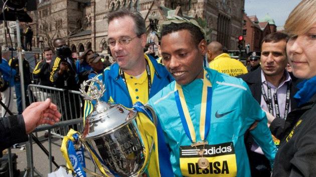 Las medallas del maratón de Boston, a la venta en eBay