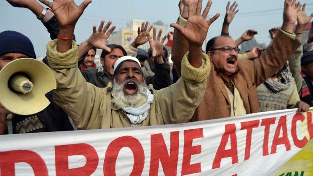 Drones de EE.UU. matan a 40 personas en Pakistán en menos de dos semanas