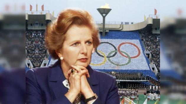 Dados a conocer los otros 'juegos olímpicos' de Margaret Thatcher