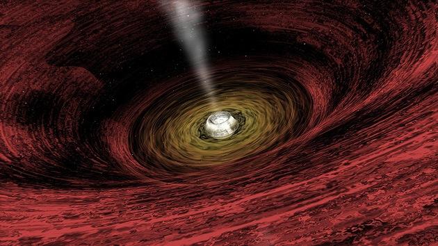 La Tierra está dentro de un agujero negro