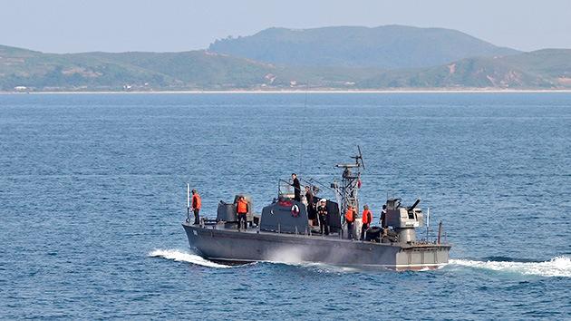 Un patrullero norcoreano viola la frontera marítima con el Sur en época de tensión