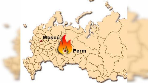 Fallecen ocho personas en un incendio en la ciudad rusa de Perm