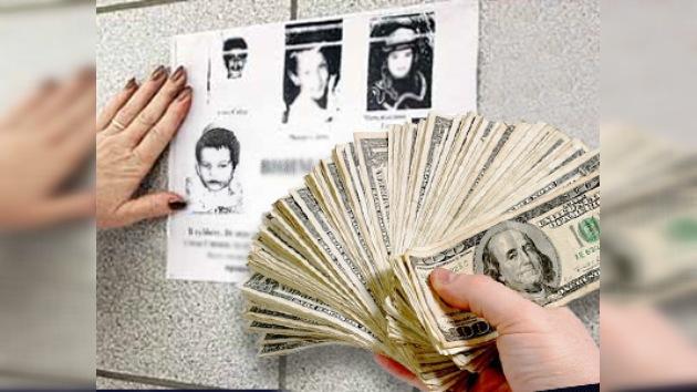 Ofrecen recompensa por niños desaparecidos
