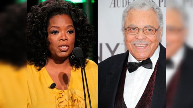 Oprah Winfrey y James Earl Jones serán galardonados con el Oscar honorífico