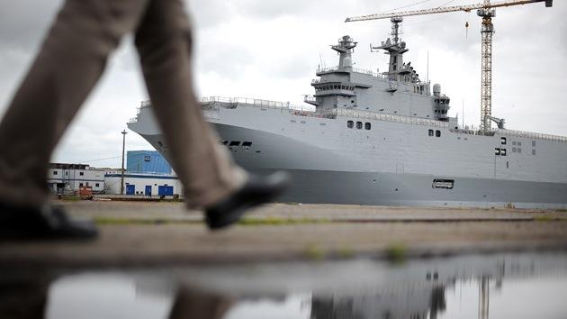 EE.UU. presiona a la OTAN para que deje de suministrar portahelicópteros Mistral a Rusia