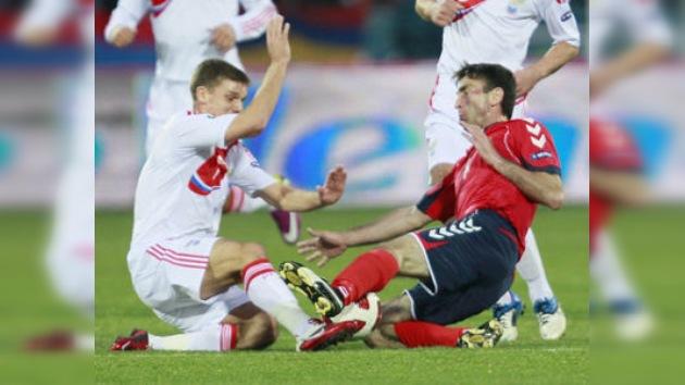 El empate entre Rusia y Armenia complica aún más la clasificación del grupo
