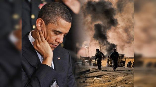 Obama: La guerra en Libia se ha metido en un callejón sin salida