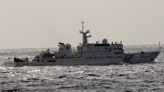 Naves chinas entran en las aguas del archipiélago en disputa con Japón