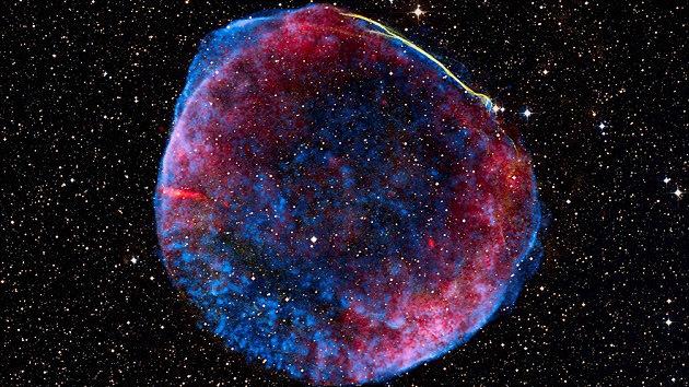 Chile arroja luz sobre la 'muerte' más deslumbrante de una estrella hace mil años