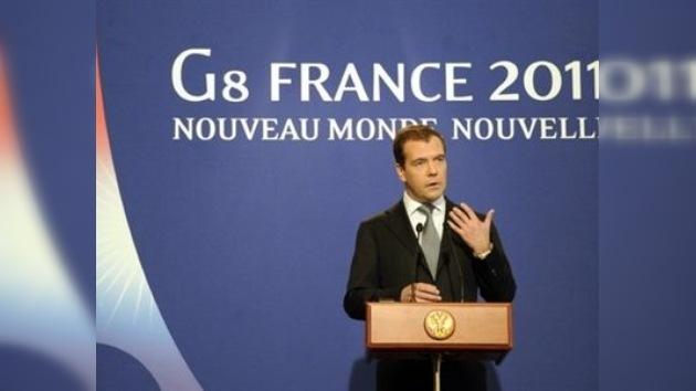 """Dmitri Medvédev: """"El presidente sirio tiene que pasar de las palabras a las reformas"""""""