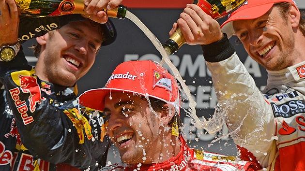 Fernando Alonso gana el Gran Premio de Alemania de Fórmula 1