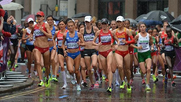 Londres 2012: La rusa Petrova-Arjípova gana el bronce en maratón
