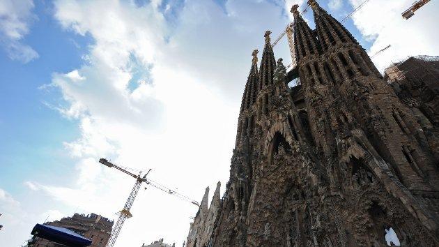 Video: Espectáculo multimedia en la basílica de la Sagrada Familia