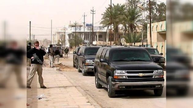 Irak sigue insistiendo en que Blackwater sea juzgada