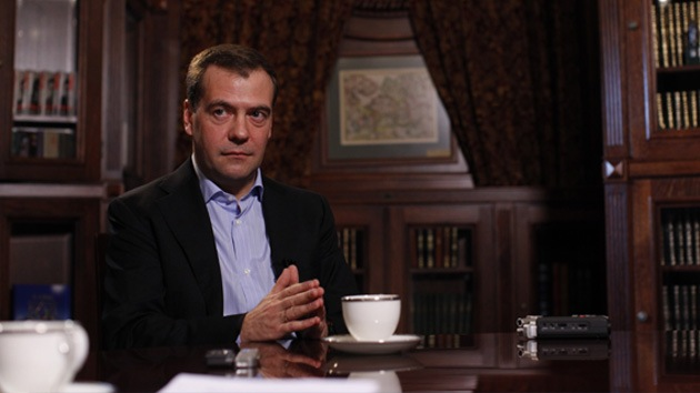 Medvédev condena como 'maligna' la interpretación amplia que hace EE.UU. de su soberanía