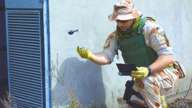 Nuevos microdrones podrán entrar a edificios a buscar enemigos
