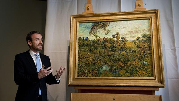 Descubren una nueva pintura de Van Gogh