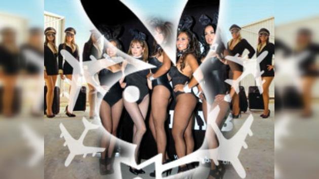 Azafatas mexicanas firman contrato con Playboy