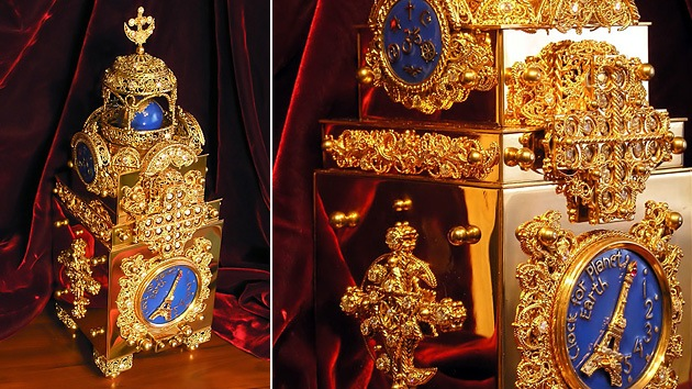 Un joyero ruso regala a la ONU un reloj que muestra la hora del 'fin del mundo'