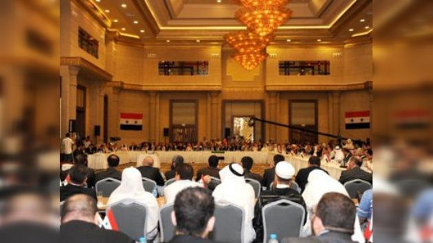 La oposición siria crea el Consejo de Salvación para 'llevar al país hacia la democracia'