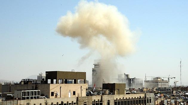 Damasco: El impacto de proyectiles cerca de la embajada rusa deja al menos un muerto