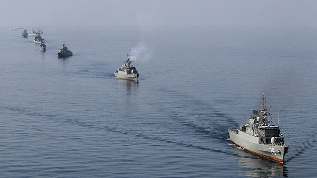"""Irán manda """"un mensaje"""" enviando sus buques de guerra a las fronteras de EE.UU."""