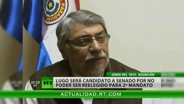 Fernando Lugo será candidato a senador en Paraguay