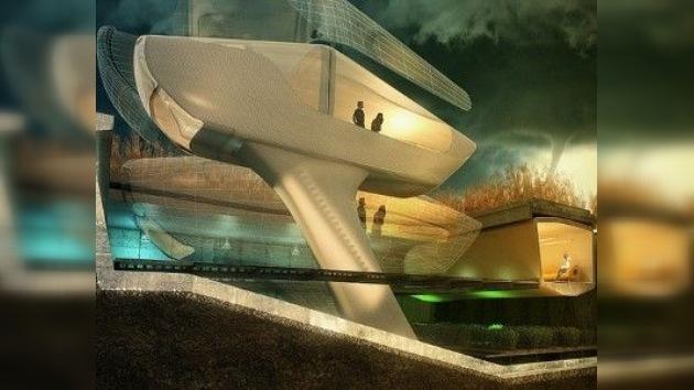 Diseñan una casa antihuracanes